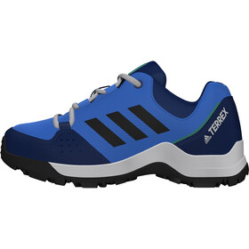 adidas TERREX Hyperhiker Low Hiking Shoes Kids glory blue/core black/signal green